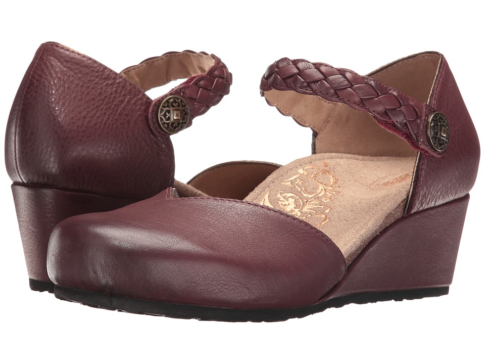 Aetrex Mia (Burgundy) Women