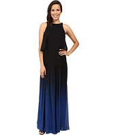 Halston Heritage - Ombre Gown with Back Cut Out