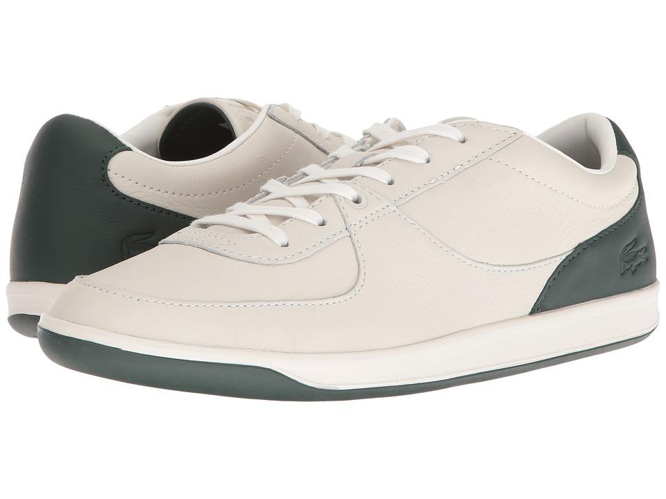 Lacoste LS.12-Minimal 316 2 (Off-White/Dark Green) Men