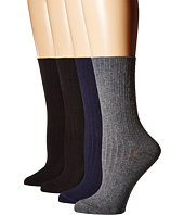 HUE - Rib Dress Socks 4-Pack