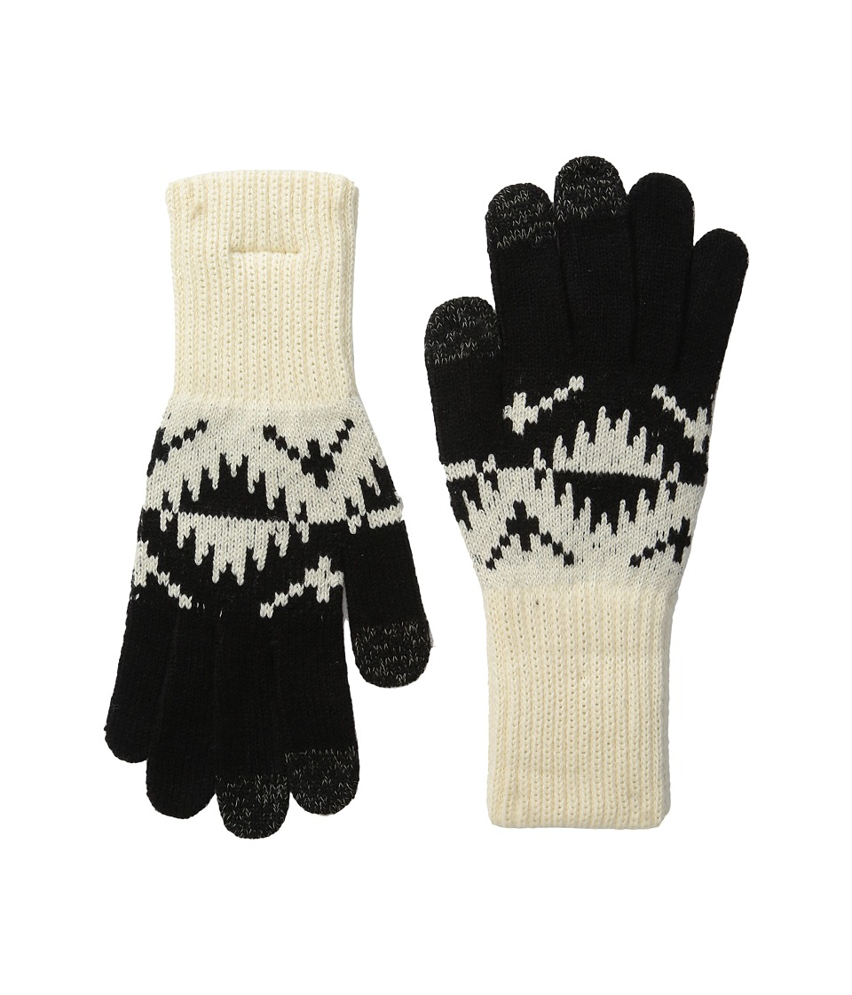 Pendleton Jacquard Texting Gloves (Spider Rock Ivory) Wool Gloves