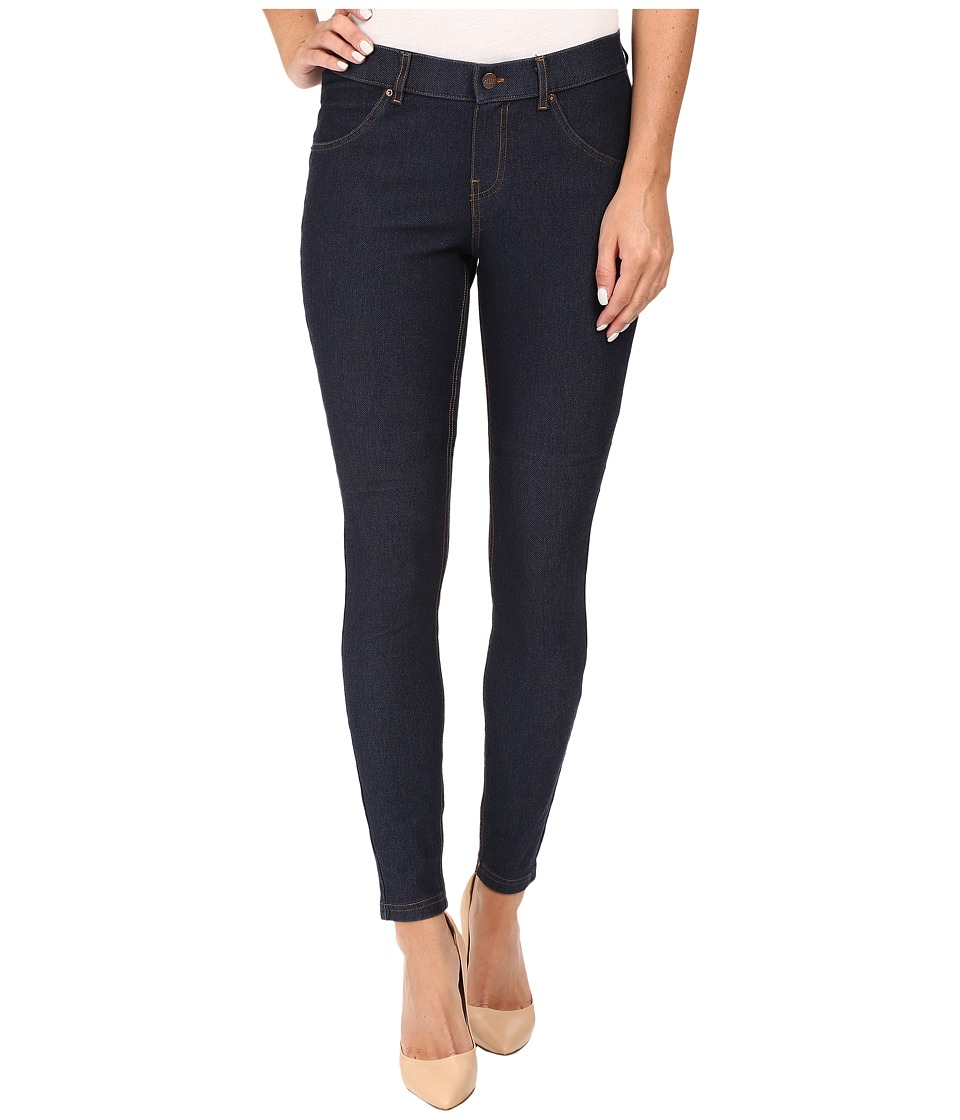 HUE - Essential Denim Leggings (Deep Indigo Wash) Womens Jeans