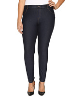 HUE - Plus Size Essential Denim Leggings