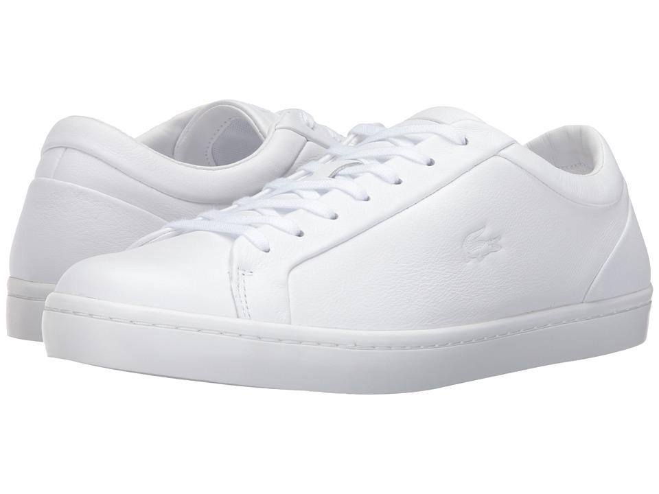 Lacoste Straightset 316 1 (White) Men