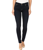 7 For All Mankind - Skinny w/ Squiggle in Dark Dusk Indigo