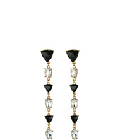 GUESS - Alternating Stone Linear Drop Earrings