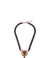 GUESS - Cluster Stone Front Necklace