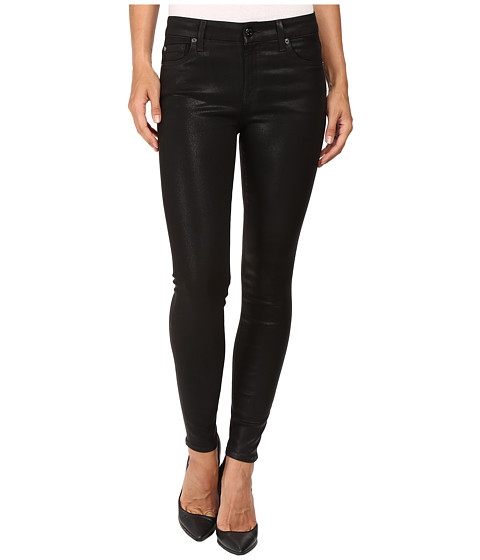 7 For All Mankind The Ankle Skinny in Coated Fashion