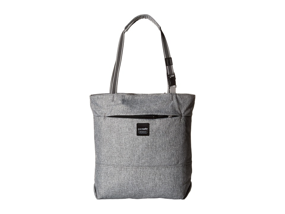 Pacsafe - Slingsafe LX200 Anti-Theft Compact Tote Bag (Tweed Grey) Bags