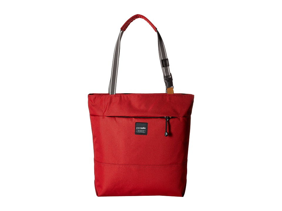 Pacsafe - Slingsafe LX200 Anti-Theft Compact Tote Bag (Chili) Bags