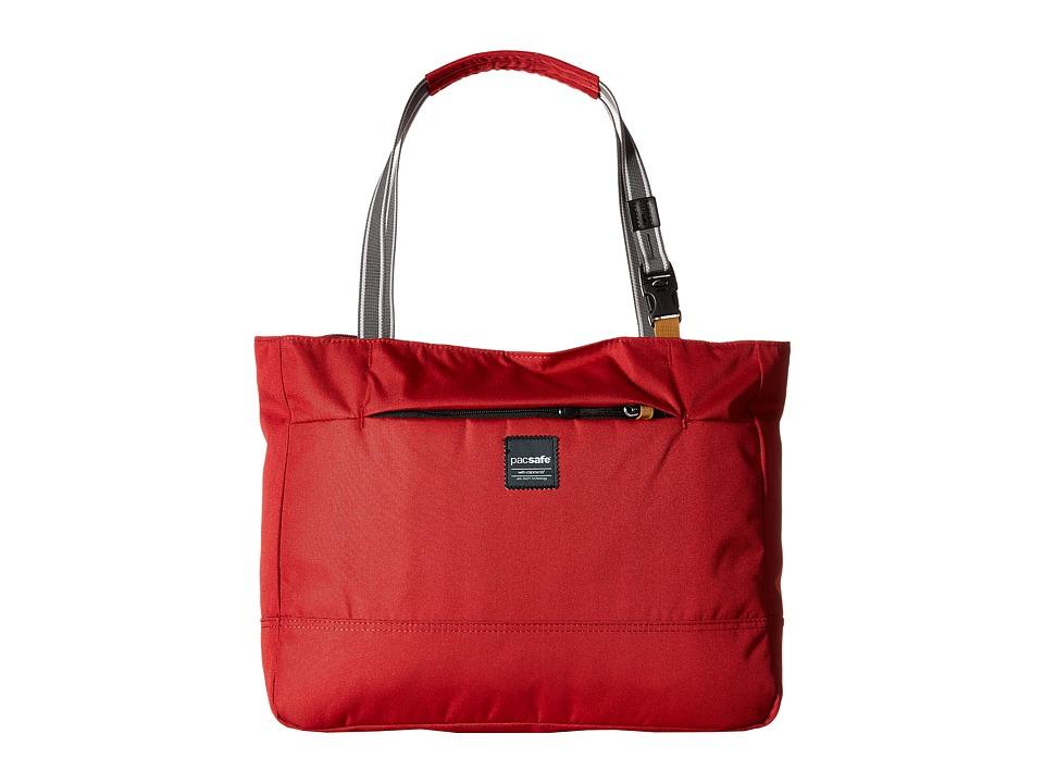 Pacsafe Slingsafe LX250 Anti-Theft Tote Bag (Chili) Bags
