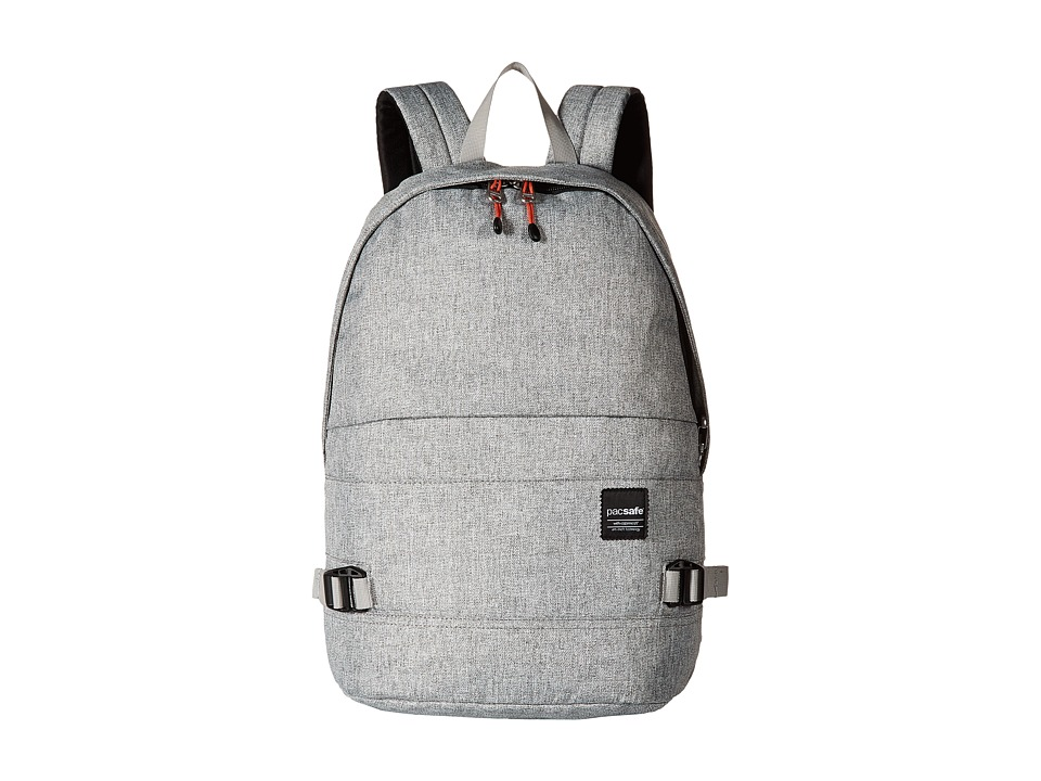 Pacsafe - Slingsafe LX350 Anti-Theft Backpack w/ Dectachable Crossbody (Tweed Grey) Backpack Bags