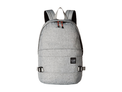 Pacsafe Slingsafe LX350 Anti-Theft Backpack w/ Dectachable Crossbody - Tweed Grey