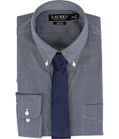 LAUREN Ralph Lauren - Slim Button Down with Pocket Dress Shirt