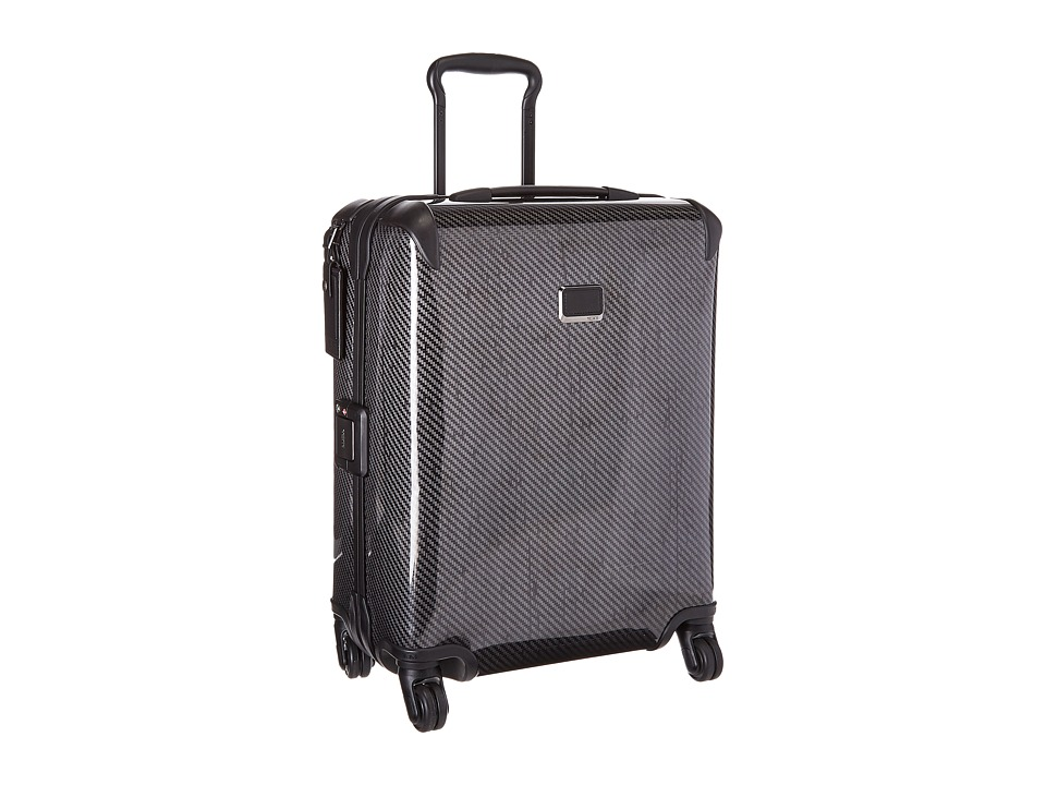 Tumi - Tegra-Lite X Frame Continental Carry-On (Black Graphite) Carry on Luggage