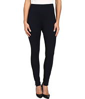 HUE - High Waist Piped Illusion Ponte Leggings