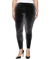 HUE - Plus Size Velvet Leggings