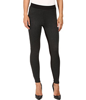 HUE - Houndstooth Blocked Illusion Ponte Leggings