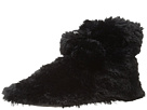 HUE - Furry Bootie (Black)