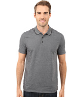 Perry Ellis - Two-Button Birdseye Texture Polo