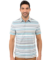 Perry Ellis - Regular Fit Multicolor Stripe Pattern Shirt