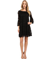Badgley Mischka - Flare Bell Sleeve Dress