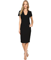 Badgley Mischka - Square Neck Sheath Dress