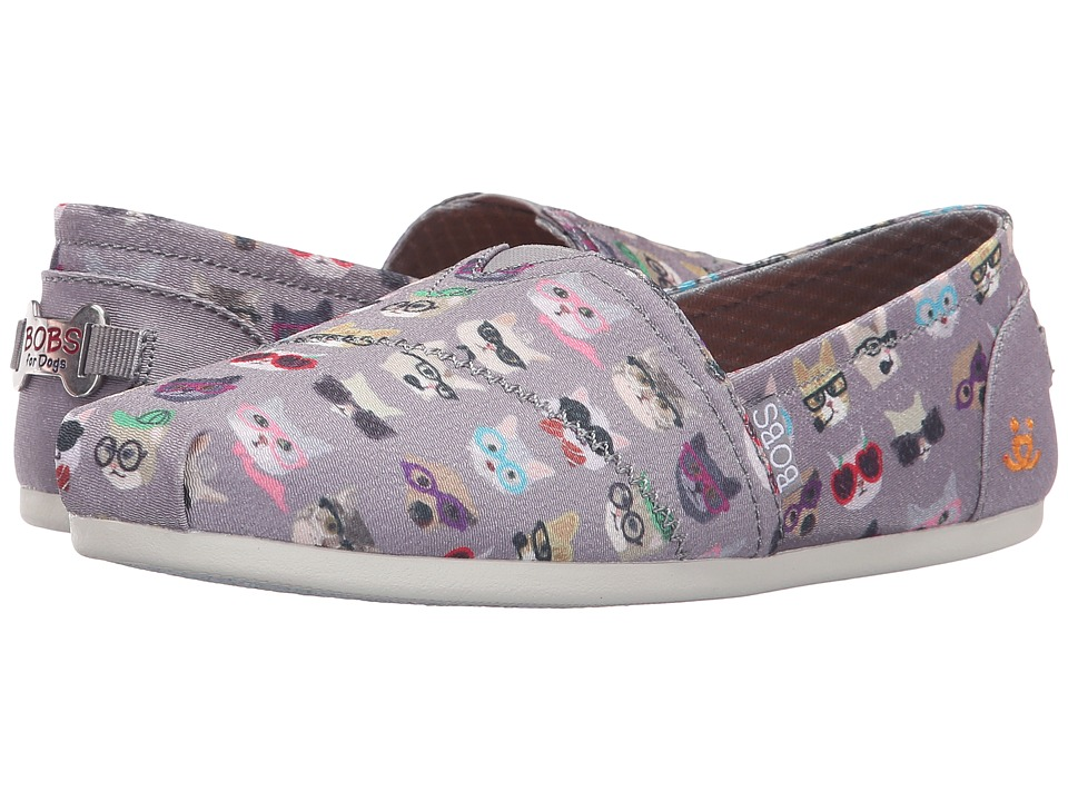BOBS from SKECHERS Bobs Plush Kitty Smarts (Gray) Women
