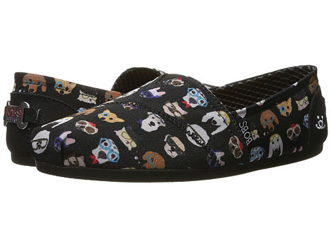 BOBS from SKECHERS Bobs Plush - Pup Smarts - Black