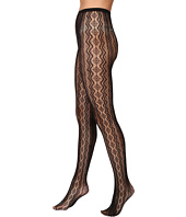 HUE - Vertical Diamond Net Tights