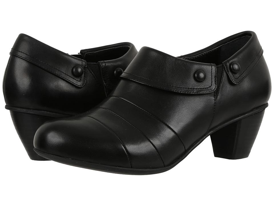 Drew Ashton (Black Smooth Leather) Women
