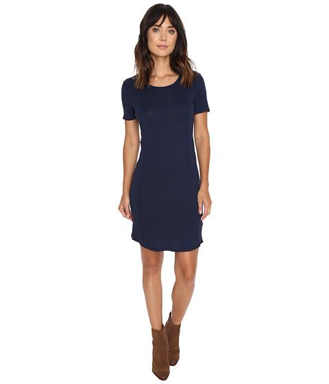Splendid - Codette Mini Rib T-Shirt Dress (Academy Navy) Women's Dress
