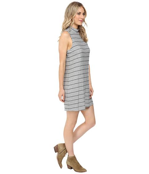 splendid loralie stripe mock neck dress   6pm