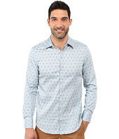 Perry Ellis - Slim Fit Scribble Print Shirt