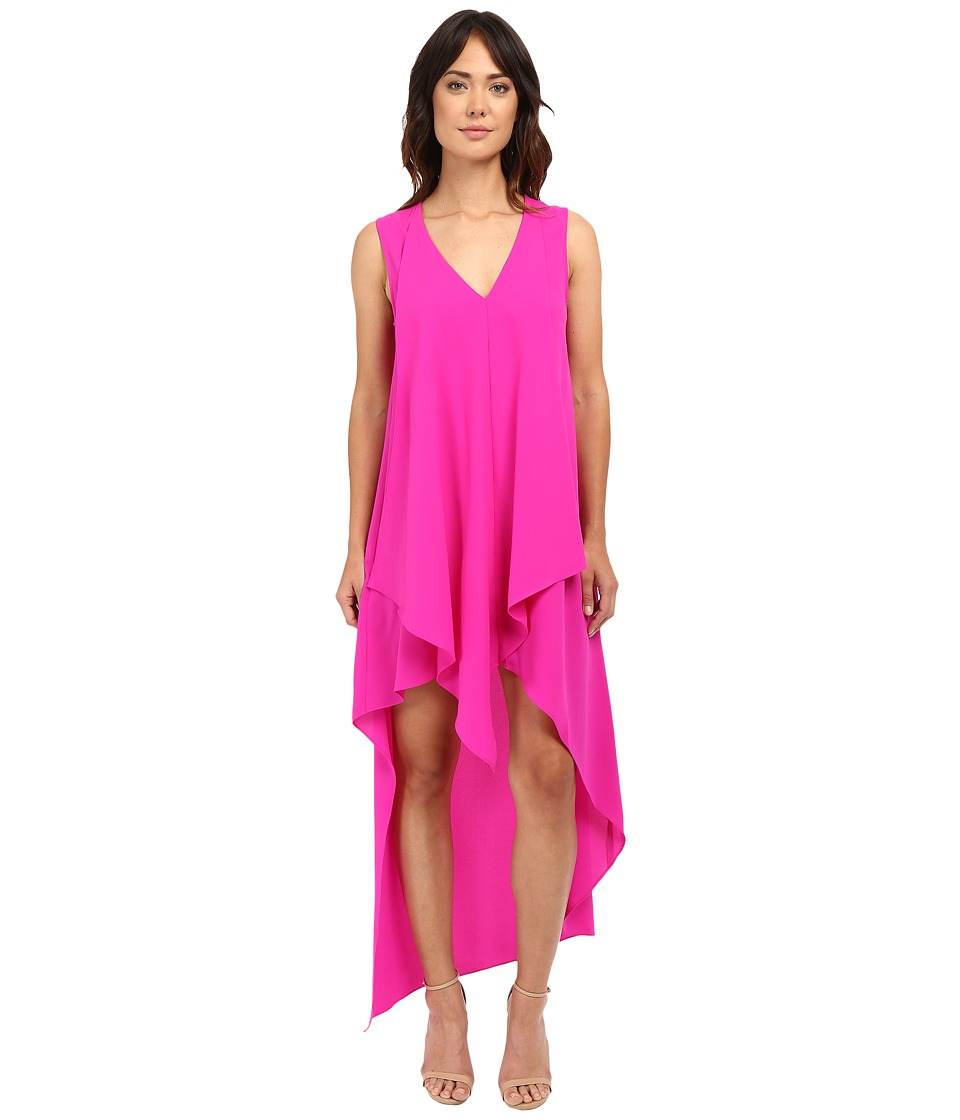 Adelyn Rae High Low Dress Bright Fuchsia Womens Dress