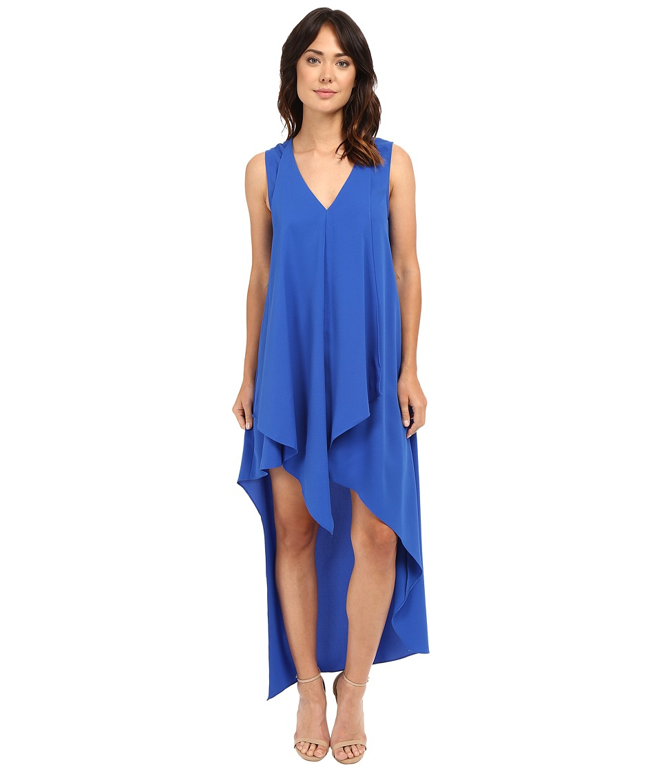 Adelyn Rae High Low Dress Electric Blue Womens Dress