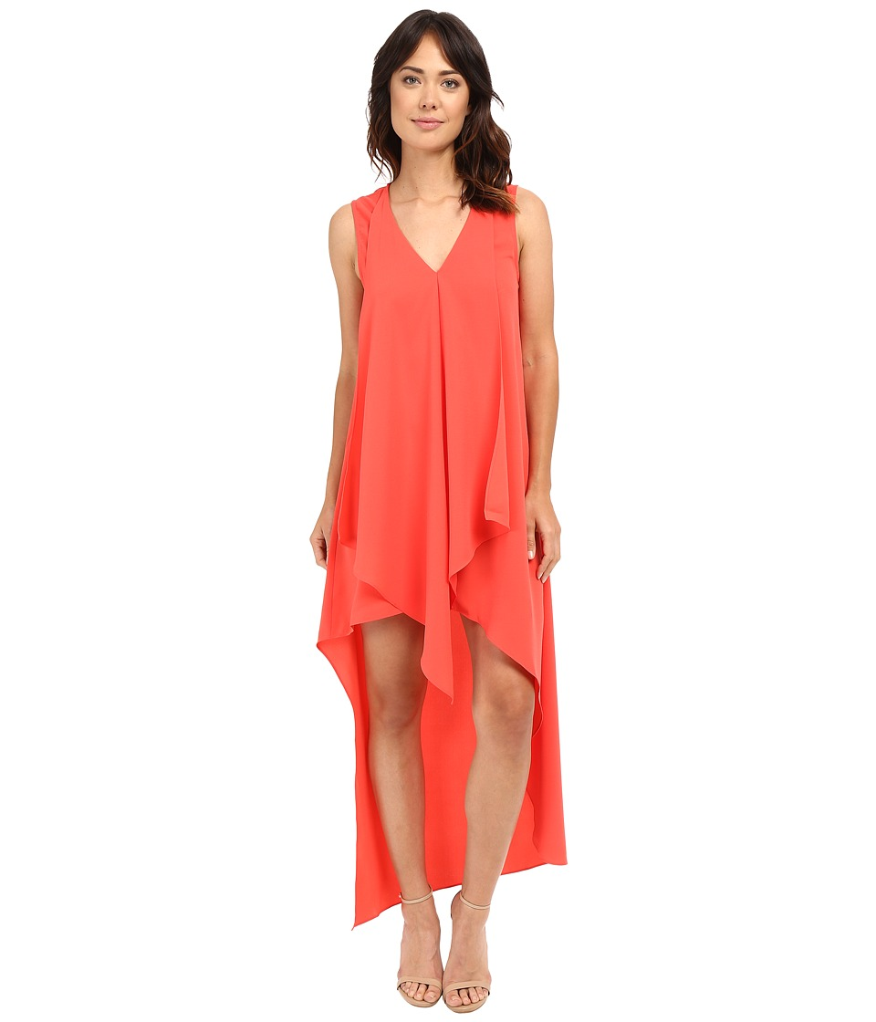 Adelyn Rae High Low Dress Red/Orange Womens Dress