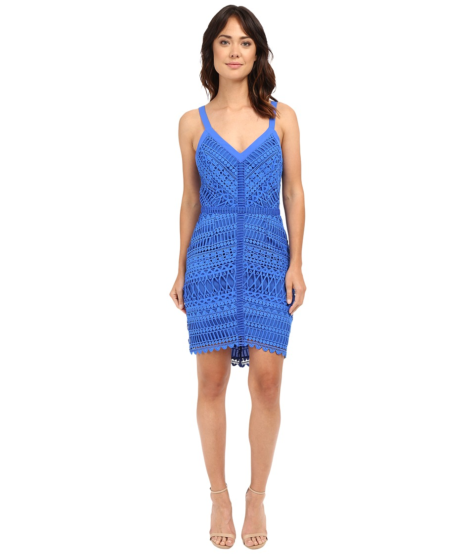 Adelyn Rae Fitted Lace Dress New Blue Womens Dress