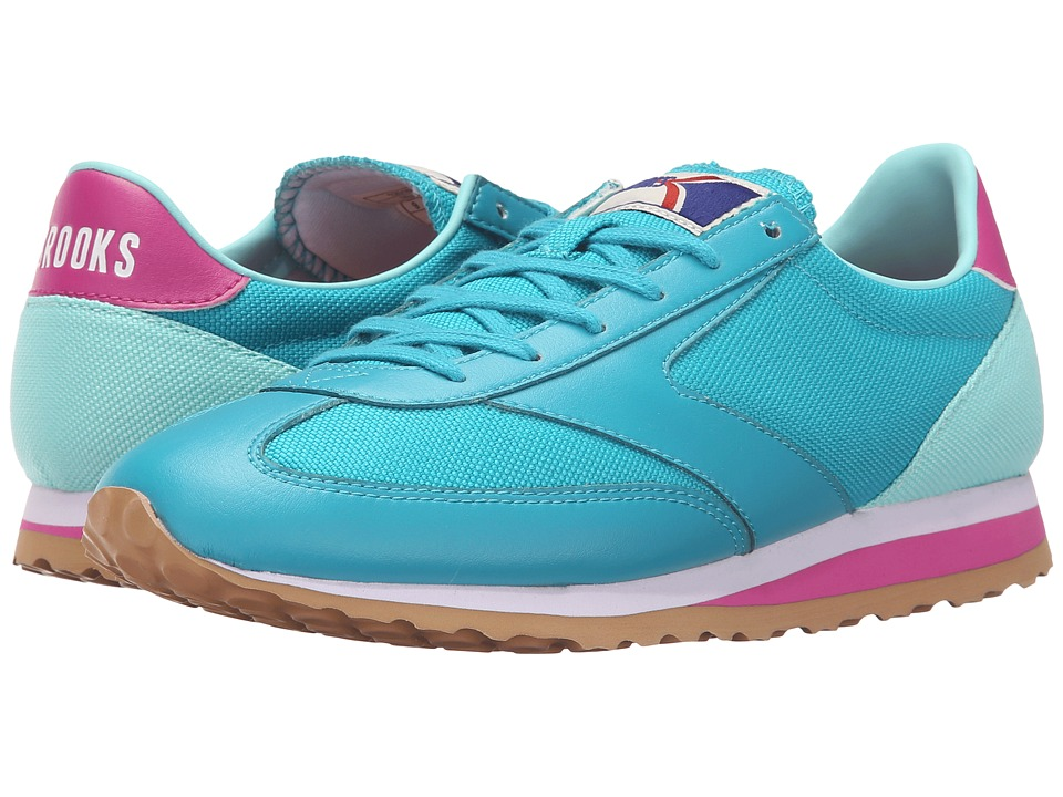 Brooks Heritage Vanguard Capri Breeze/Aruba Blue/Boysenberry/White Womens Running Shoes