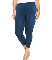 HUE - Plus Size Seamless Shaping Capris