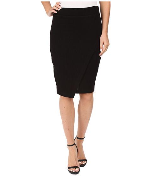 Splendid - Sylvie Rib Skirt (Black) Women's Skirt