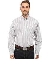 Cinch - Long Sleeve Plain Weave Stripe