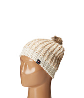Tommy Hilfiger - Chunky Beaded Beanie with Faux Fur Pom