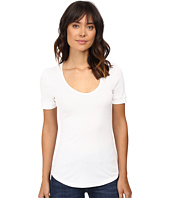 Splendid - 1X1 Scoop Neck Tee