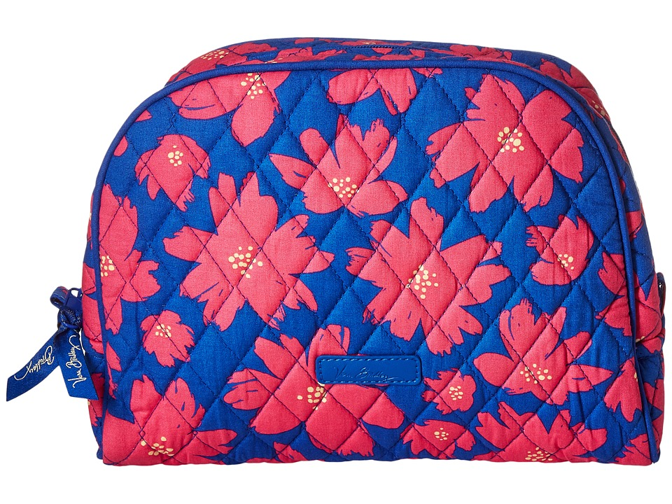 Vera Bradley Luggage - Large Zip Cosmetic (Art Poppies) Cosmetic Case