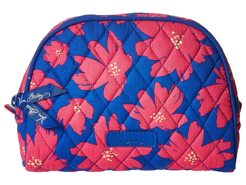 Vera Bradley Luggage - Medium Zip Cosmetic (Art Poppies) Cosmetic Case