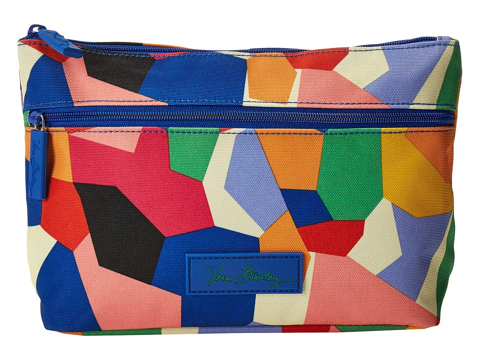Vera Bradley Luggage - Lighten Up Travel Cosmetic (Pop Art) Cosmetic Case
