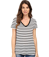 Splendid - Cerine Slub Stripe V-Neck