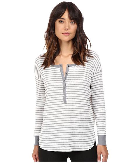 Splendid Alline Stripe Loose Knit Henley