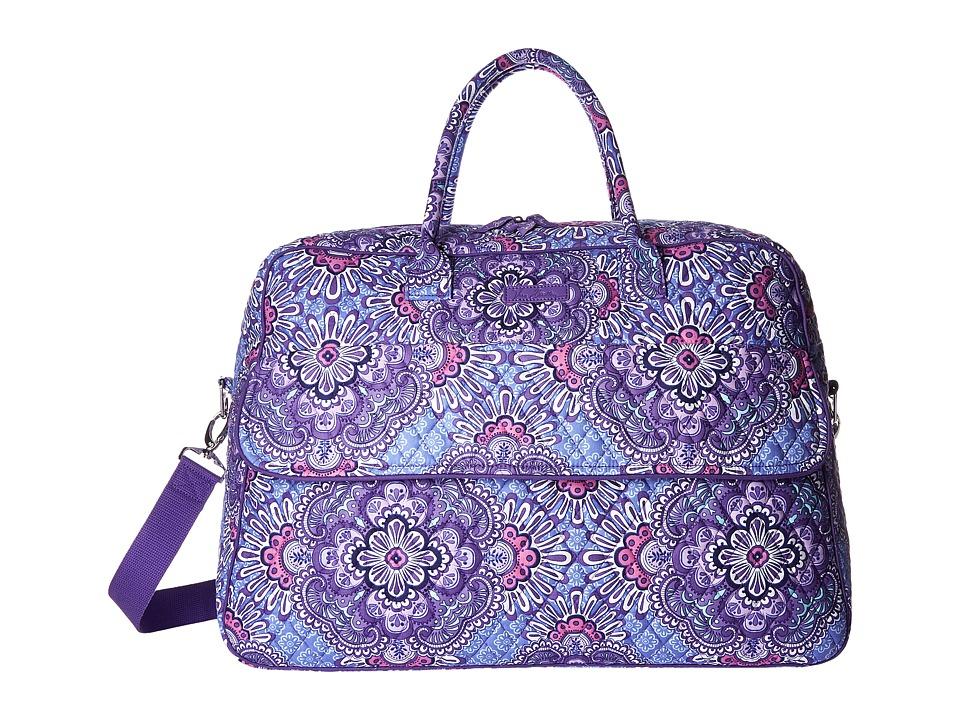 Vera Bradley Luggage - Grand Traveler (Lilac Tapestry) Duffel Bags